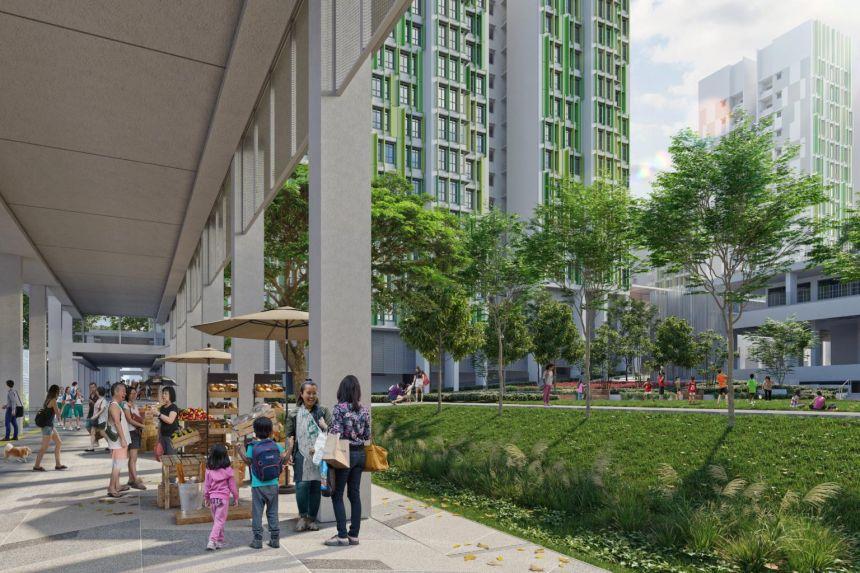 2,000 BTO Housing Board flats in Singapore's newest estate Bidadari completed